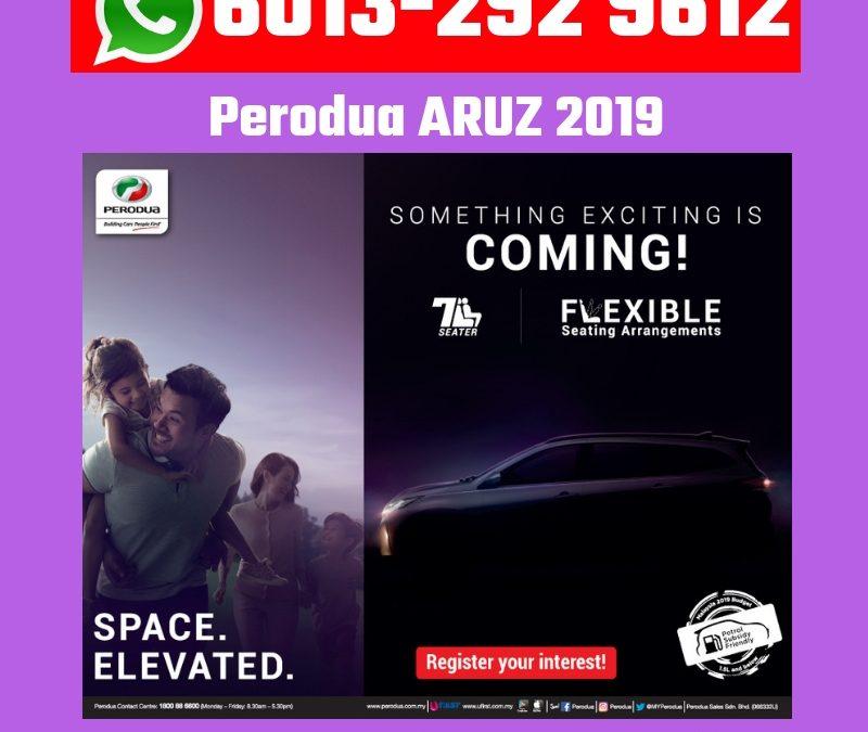 Perodua Aruz Baru 2019