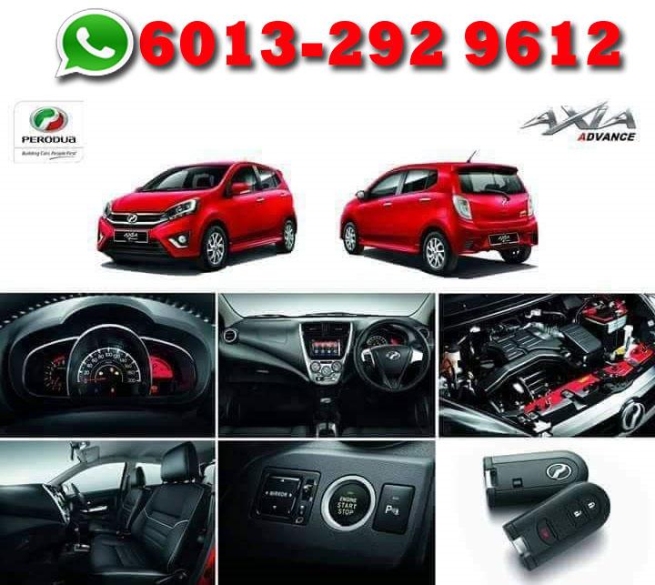 Perodua Axia  Ciri-ciri dan senarai harga Perodua Axia