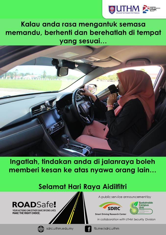 Berhati-hati memandu pulang ke kampung halaman