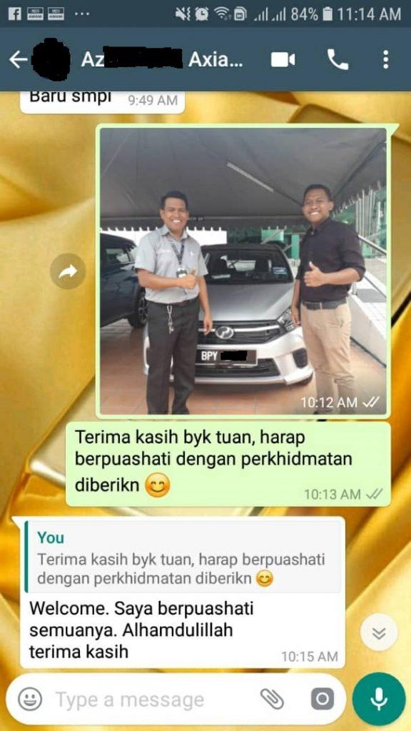 Masih Ramai Berpuashati Berurusan Dengan Perodua Selangor