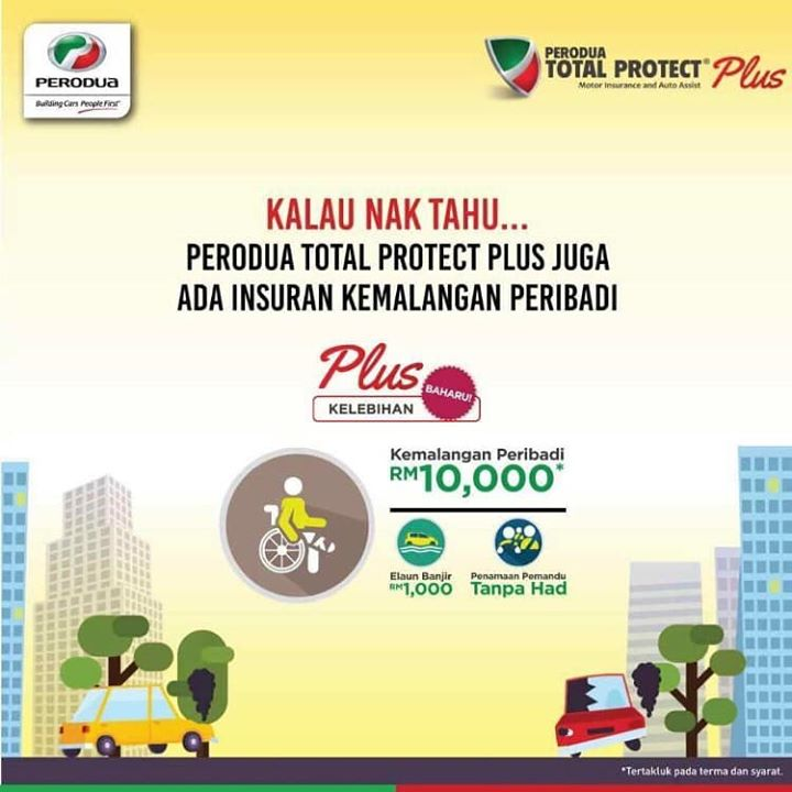 produa total protect plus kemalangan peribadi